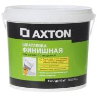 Шпатлёвка финишная Axton для сухих помещений 5 кг