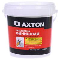 Шпатлёвка финишная Axton для влажных помещений 1,5 кг