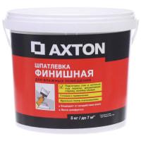 Шпатлёвка финишная Axton для влажных помещений 5 кг