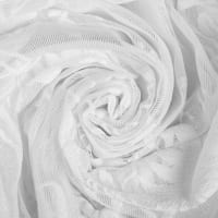 Тюль «Бабочки» 280 см цвет белый