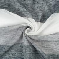 Тюль «Крупные полосы» 295 см цвет серый
