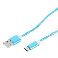Кабель Type-C цвет синий