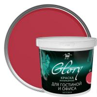 Краска для гостинной Glory 0.9 л, цвет красное дерево