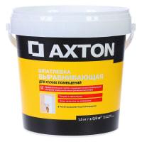 Шпатлевка выравнивающая для сухих помещений Axton 1.5 кг