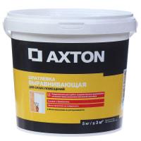 Шпатлевка выравнивающая для сухих помещений Axton 5 кг