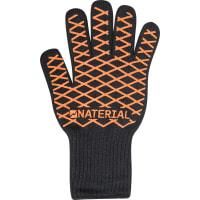 Перчатки для гриля Naterial «Alpha», цвет чёрно-оранжевый