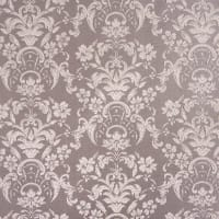 Ткань 1 п/м «Цветы», жаккард, 285 см, цвет бежевый, серый