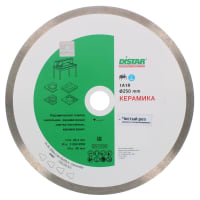 Диск алмазный по керамике Distar, 250х10х25.4 мм
