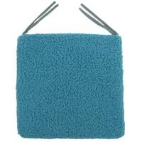Галета для стула «Шерпа», 40x40 см, цвет морская волна