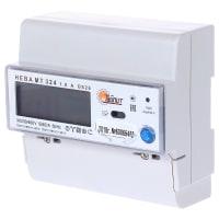 Счётчик электроэнергии Нева МТ 324 AOS26 5(60)А, трёхфазный