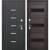 Дверь входная металлическая Гарда Муар, 860 мм, левая, цвет тёмный кипарис