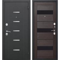 Дверь входная металлическая Гарда Муар, 960 мм, правая, цвет тёмный кипарис