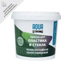 Эмаль по стеклу и пластику Nevel Silver, 1 кг