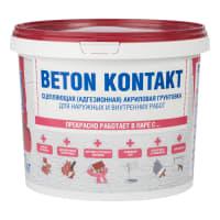 Грунтовка адгезионная Bergauf «Beton Kontakt», 7 л