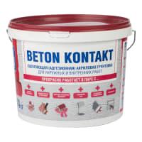 Грунтовка адгезионная Bergauf Beton Kontakt 14 кг
