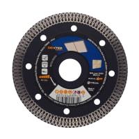Диск алмазный по керамограниту Dexter Pro, 115x22.2 мм