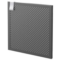 Дверь для ящика Spaceo Kub Paris 32x32 см металл цвет черный