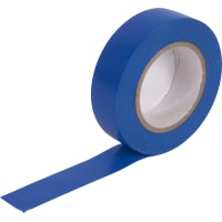 Изолента 0.15x19 мм, 15 м, цвет синий