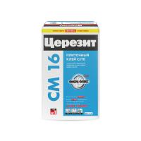 Клей для плитки эластичный Ceresit CM 16 «Flex», 25 кг