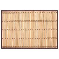 Салфетка сервировочная «Бамбук-2», 30х45 см, цвет коричневый