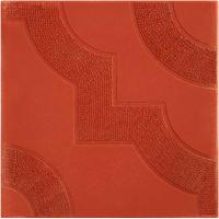 Плитка тротуарная «Фантазия», цвет красный