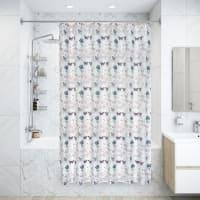Штора для ванной комнаты Ode, 180x200 см, полиэстер
