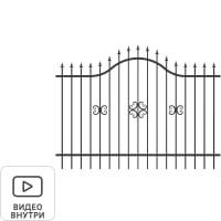 Секция заборная «Аврора» 2.5x1.9 м