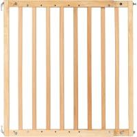 Барьер для защиты детей раздвижной, 105.5 см, бук/металл