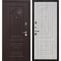 Дверь входная металлическая Флоренция, 860 мм, левая, цвет белёный дуб