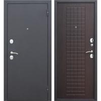 Дверь входная металлическая Гарда Муар, 960 мм, правая, цвет венге