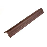 Конёк верх Ондувилла 3D цвет коричневый