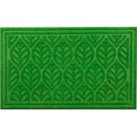 Коврик с нескользящей подложкой, 45х75 см, полиэстер, цвет зелёный