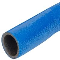 Изоляция для труб СуперПротект, Ø28/4 мм, 11 м, полиэтилен, цвет синий
