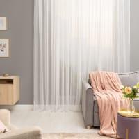 Тюль на ленте Softy, 500х280 см, однотонный, цвет белый