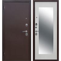 Дверь входная металлическая Царское зеркало Maxi, 860 мм, левая, цвет белый ясень