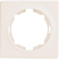 Рамка для розеток и выключателей Onekey Florence 1 пост, цвет бежевый