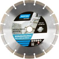 Диск алмазный по железобетону Norton, 230х22.2 мм