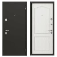 Дверь металлическая Гарант, 960 мм, левая, цвет антик ларче