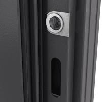 Дверь металлическая Термо С-2, 880 мм, правая, цвет лесной орех