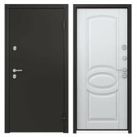 Дверь металлическая Термо С-2, 880 мм, левая, цвет белый
