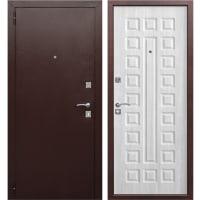 Дверь входная металлическая Йошкар, 960 мм, левая, цвет белый ясень