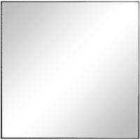 Зеркало декоративное Jo, квадрат, 30х30 см, цвет чёрный