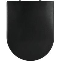 Сиденье для унитаза Uno So Black дюропласт, микролифт, цвет чёрный