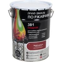 Грунт эмаль по ржавчине 3 в 1 гладкая Dali Special цвет красно-коричневый 5 кг