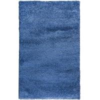 Ковёр «Шагги Тренд» L001, 0.8х1.5 м, цвет синий