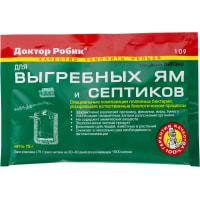 Биопрепарат Доктор Робик 109 для септиков и выгребных ям
