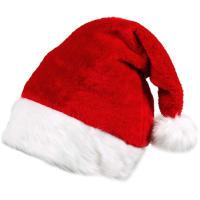 Карнавальное украшение «Шапка Санта Клауса Люкс»