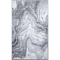 Ковёр «Рим» 618W, 1.6х2.35 м, цвет светло-серый