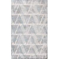 Ковёр «Эрин» 1902G, 1.6х2.35 м, цвет светло-серый