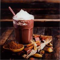 Картина на стекле «Горячий шоколад», 30х30 см